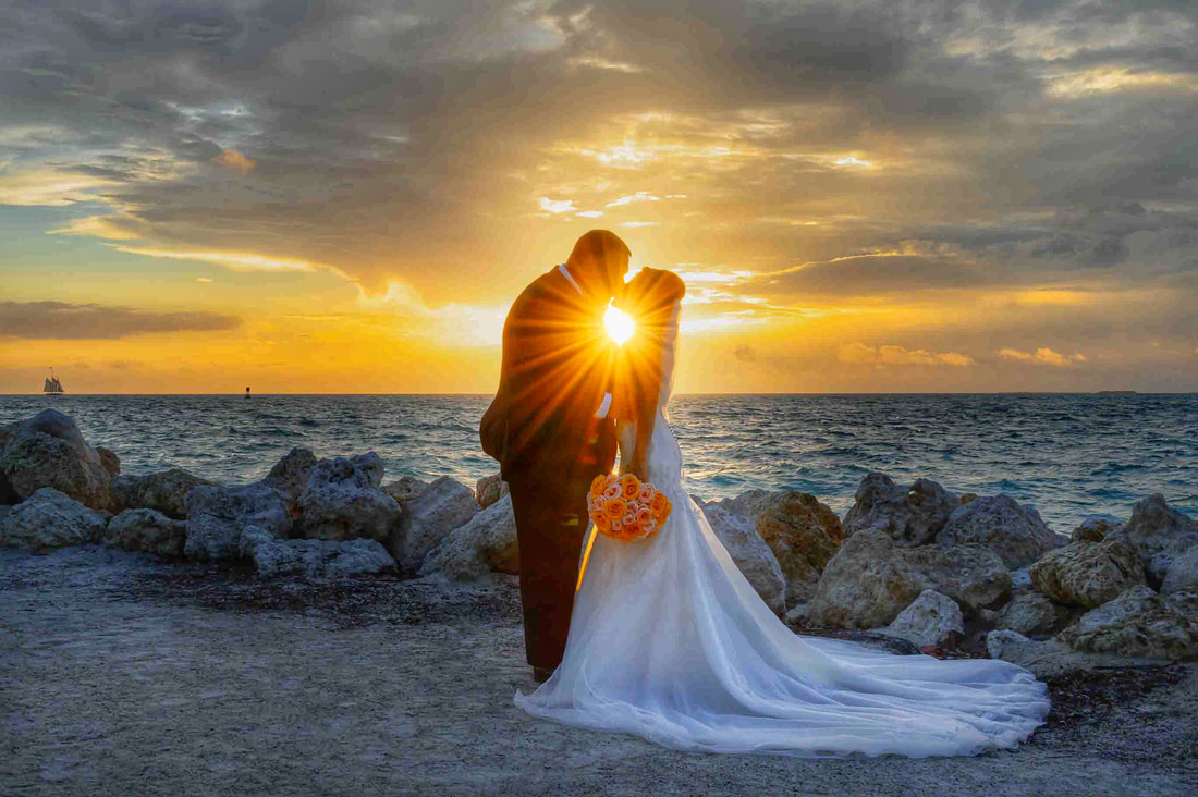 Wedding at Fort Zachary Taylor Park